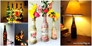 Diy Interior Design by 34 Fascinating Upcycling Diy Wine Bottle Projects To Refresh Your