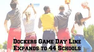 dockers expands collegiate apparel line to 44 schools