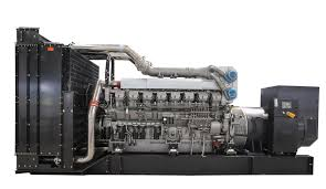 diesel generator cooperated with mitsubishi engines