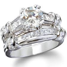 Womens Wedding Ring Sets by New Womens Wedding Ring Sets Sterling Silver