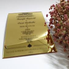 Wedding Invitation Cards Printing Compare Prices On Acrylic Wedding Invitations Online Shopping Buy