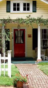 allison fouse yellow houses white trim and green shutters