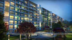 Row Houses Elevation - 3d apartments design 3d apartment rendering u0026 elevation 3d power