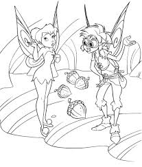 tinkerbell coloring kids tinkerbell friends coloring pages