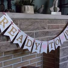 baby shower banner best pink and gold baby shower banner products on wanelo