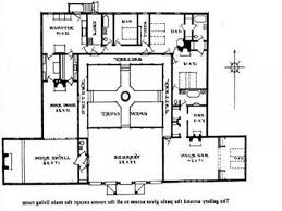 cool spanish style house plans with interior courtyard ideas