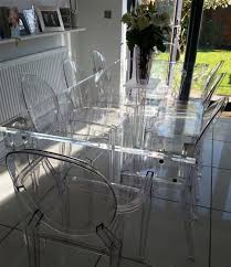 acrylic dining room table acrylic dining table and chairs 1700 also surprising kitchen wall