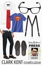 Superman Halloween Costumes Adults Minute Halloween Costume Idea Clark Kent Halloween