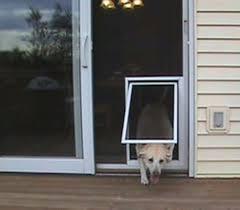 French Door With Pet Door Chesapeake Series Reversible Wood Screen Door With Extra Large Pet