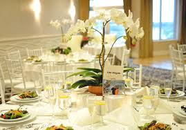 orchid centerpiece second guessing orchid flower arrangements weddingbee