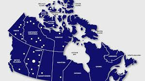 Canada On Map by University Hospital Foundation