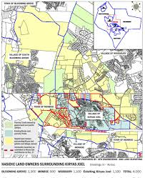 Warwick New York Map by Kiryas Joel Annexation Attempt Map Shows Hasidic Inventory News