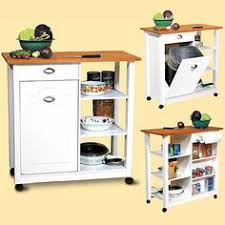 kitchen island trash bin 60 types of small kitchen islands carts on wheels 2018