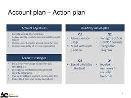account plan template strategic account management plan 40