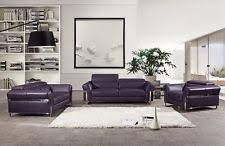 Leather Sofa And Chair Sets Full Grain Leather Sofa Ebay
