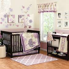 Purple And Aqua Crib Bedding Purple And Grey Crib Bedding Sets Labrevolution2017