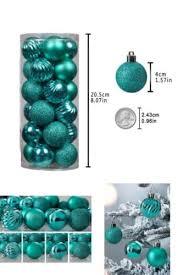 24ct ornaments shatterproof decorations