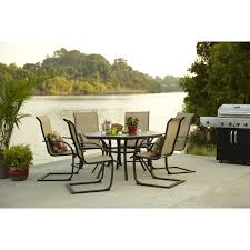 High Patio Dining Sets Home Design Mesmerizing Patio Table 6 Chairs Outdoor Dining Set