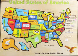 Mexico States Map by United States Map Puzzle Us And Capitals Free Software And United