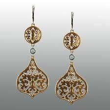 design of earing gold wallpaper design large drop earrings
