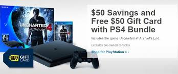 ps4 gift card get a ps4 slim for 250 with 50 gift card right now gamespot