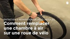 comment changer chambre à air vélo comment remplacer la chambre à air d un vélo réparer vélo