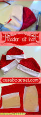 how to make a toddler elf hat with minky or fleece free printable