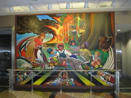 Denver Airport Murals Conspiracy Theory by Denver Airport Murals Denver Colorado Denver Airport Denver
