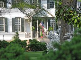 Front Porches On Colonial Homes Front Porch Of Lisburne From A Distance Karin Andrews Real