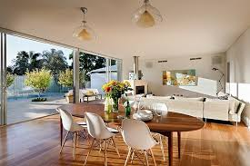 Open Floor Plan House Interior Design Located in Sunny Australia