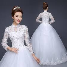 korean wedding dress 2015 korean new lace wedding dress sleeve slim