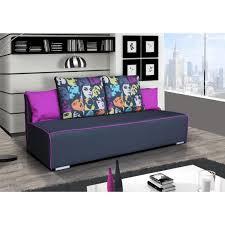 canapé convertible violet canapé convertible ila pop violet achat vente canapé sofa