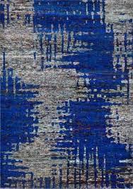bureau 駘ectrique echo modern 99 green blue textured rugs modern rugs