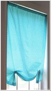 Sewing Window Treatmentscom - one yard no sew window treatment 3 ways