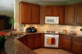 kitchen ideas with oak cabinets kitchen backsplash with oak cabinets bloomingcactus me
