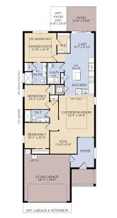 Florida Floor Plans Tropic New Home Plan Riverview Fl Centex Home Builders