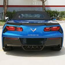 2014 corvette exhaust c7 corvette stingray exhaust corsa sport valve back performance