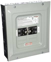 amazon com generac 6333 60 amp single load double pole manual