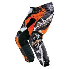 o neal motocross boots oneal 2016 element shocker pants black orange available at