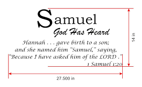 samuel baby names wall decals displaying the meaning of names 03 samuel name meanings