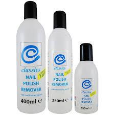 classics acetone free nail polish remover 12pcs 150ml 400ml
