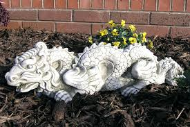 garden statues garden ornaments 2 large foo dogs