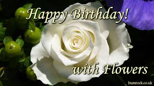 happy birthday song with beautiful flowers pictures happy