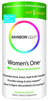rainbow light just once iron free multivitamin light women s one just once 30 tablets
