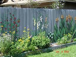 Garden Wall Paint Ideas Garden Wall Paint Color Best 25 Garden Fence Paint Ideas On