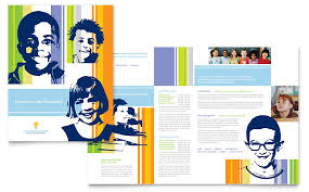 daycare brochure template child care brochure templates word publisher