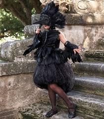Crow Halloween Costume Midnight Raven Costume Chasing Fireflies Kids Feather