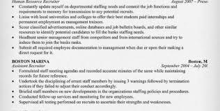 recruiter resume bullets hr recruiter resume sample human