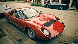 lamborghini miura race car how the lamborghini miura changed the supercar forever