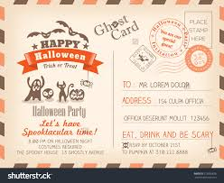 postcard halloween invitations u2013 halloween wizard